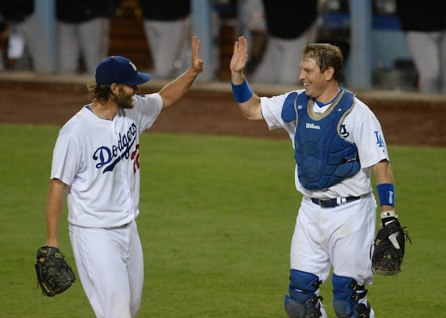 A.J. Ellis, Clayton Kershaw