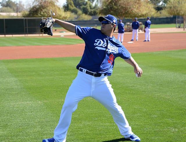 Hyun-Jin Ryu, Dodgers Spring Training
