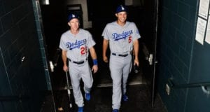 Los Angeles Dodgers, Chase Utley, Corey Seager
