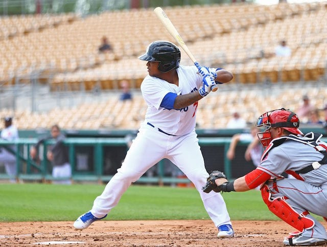 Willie Calhoun, Dodgers