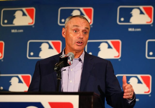 Rob Manfred, MLB commissioner