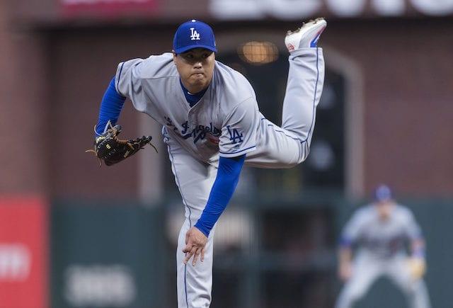 Hyun-Jin Ryu, Los Angeles Dodgers