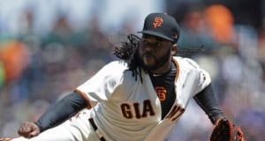 Johnny Cueto, Giants, AT&T Park