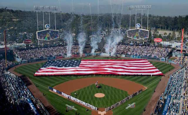 Los Angeles Dodgers, Dodger Stadium, Opening Day