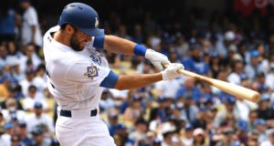Chris Taylor, Los Angeles Dodgers, Jackie Robinson Day
