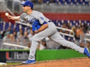 Pat Venditte, Dodgers
