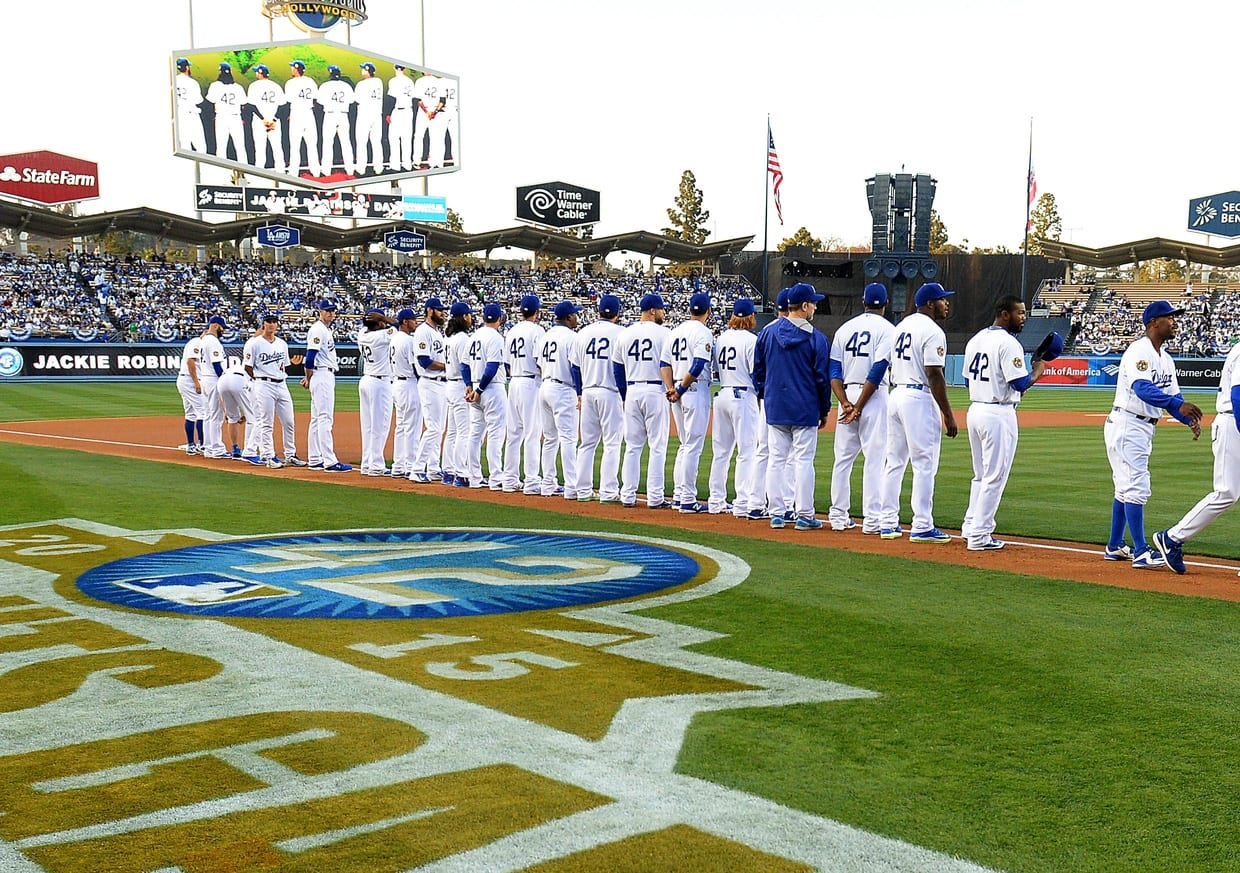 Dodgers, Jackie Robinson Day
