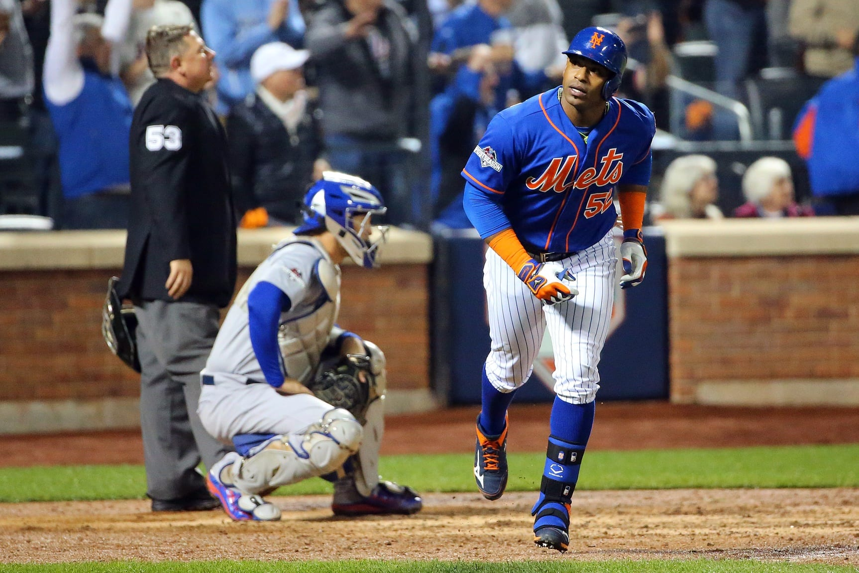 Nlds: Yoenis Cepsedes Says Mets Decided Against Retaliating