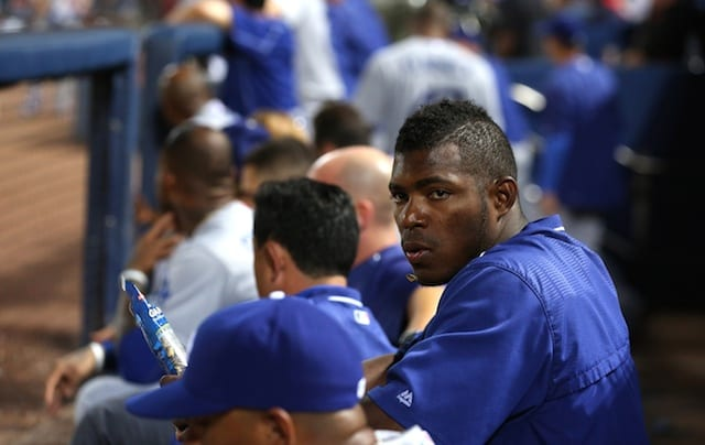 Dodgers Rumors: Yasiel Puig Involved In Altercation
