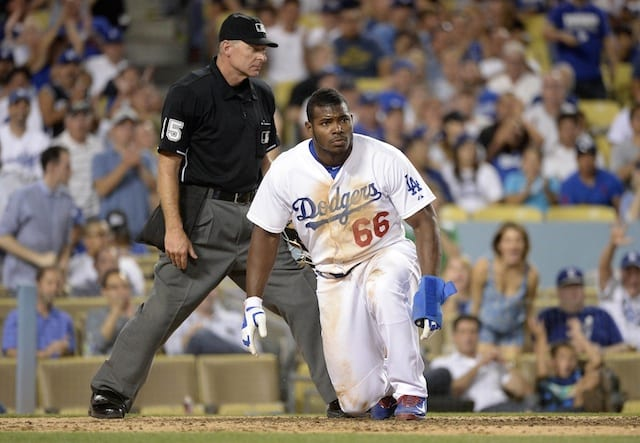Dodgers News: Yasiel Puig Says Miami Incident Was Self Defense