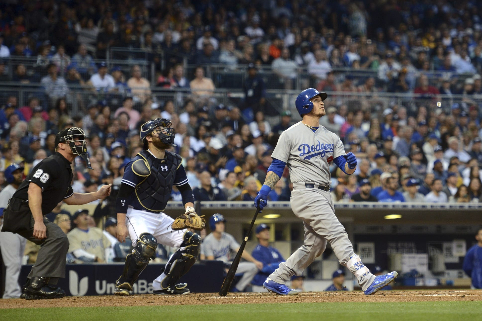 Espn To Broadcast Dodgers-padres 2016 Opening Day Game