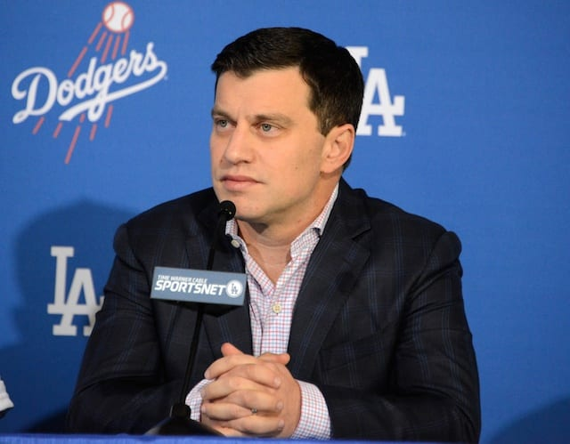 Dodgers News: Andrew Friedman Satisified With Core Players On Roster