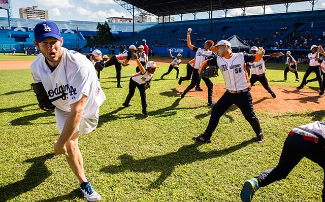 Dodgers News: Clayton Kershaw Reflects On Experience, Helping Children Of Cuba