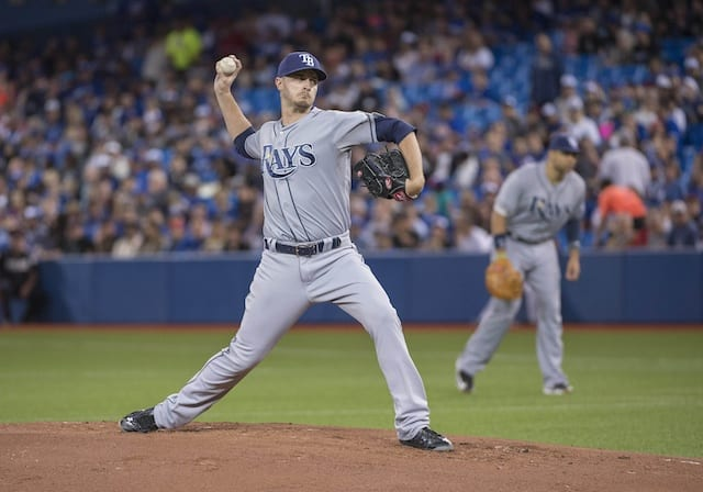 Dodgers Rumors: L.a. In Trade Talks With Rays For Starting Pitcher Jake Odorizzi