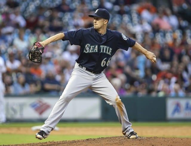 Dodgers Trade For Mariners Left-hander Tyler Olson