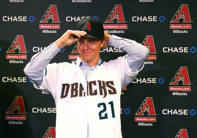 Zack Greinke's Contract With Diamondbacks Includes Over $60 Million In Deferred Salaries