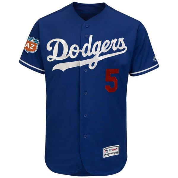 Dodgers Spring Training Jersey