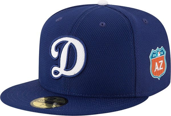 Dodgers alternate Spring Training hat