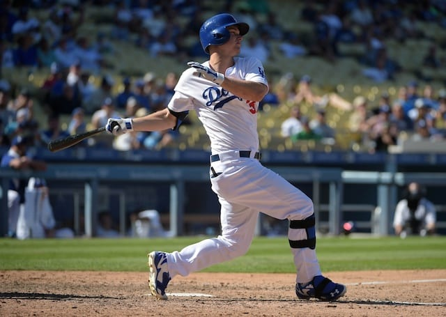 Dodgers Spring Training Video: Joc Pederson Unveils New Swing At First Full-squad Workout