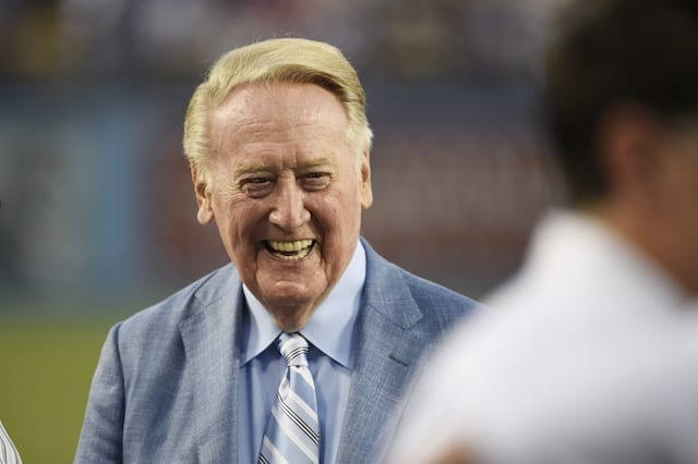 Dodgers News: Vin Scully Wouldn't Vote Pete Rose Into Hall Of Fame