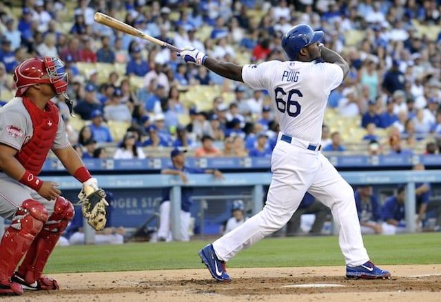 Dodgers News: Magic Johnson Calls Yasiel Puig 'key' For Success In 2016