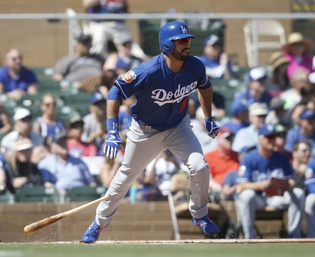 Dodgers News: Andre Ethier Removed After Fouling Pitch Off Leg