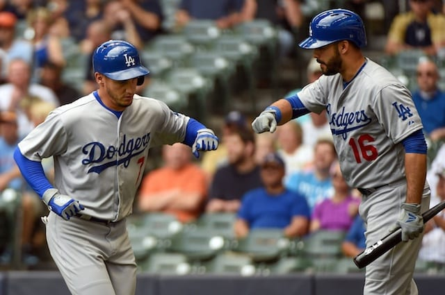 Dodgers Injury Updates: Alex Guerrero, Hyun-jin Ryu Resume Workouts; Andre Ethier Sits
