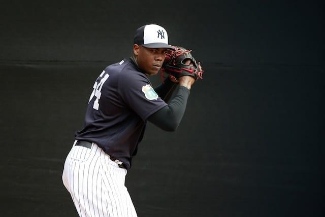 Yankees Closer Aroldis Chapman Suspended 30 Games