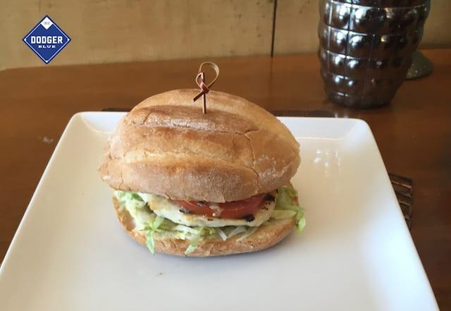 Chicken verde sandwich