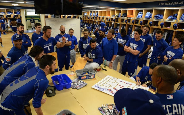 Dodgers News: Brandon Beachy-scott Van Slyke Team Win Spring Training Ping Pong Tournament