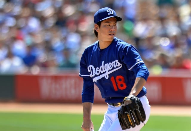 Six New Dodgers On 2016 Opening Day Active Roster