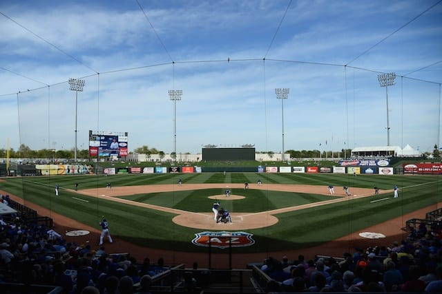 Spring Training Recap: Scott Kazmir Debuts To Mixed Results, Dodgers-rangers Play To Tie