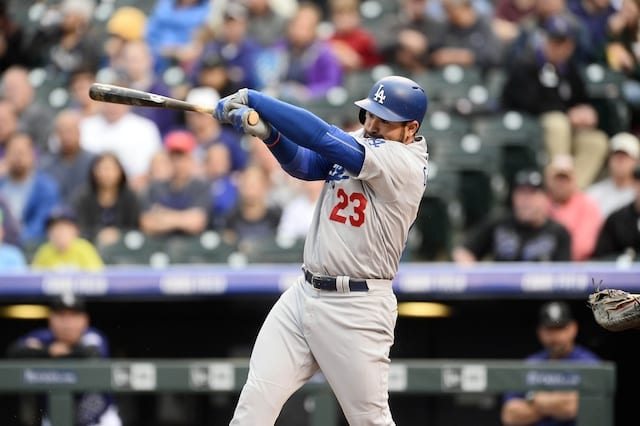 Recap: Dodgers Answer Rockies' Comeback Bid With 5 Runs In Ninth Inning