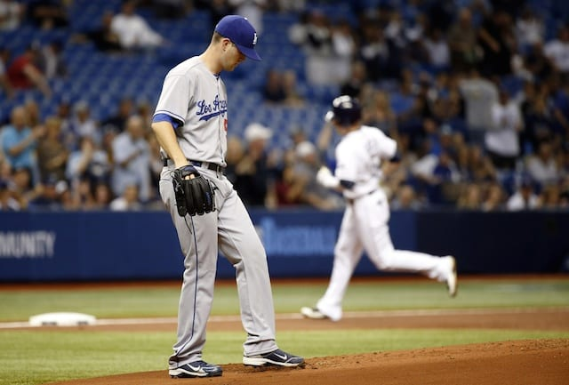 Recap: Rays Hit 3 Home Runs Off Alex Wood To Split Series With Dodgers