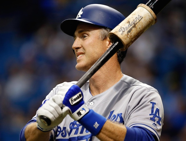 Dodgers Video: Chase Utley Hits Game-tying 3-run Double Against Mets