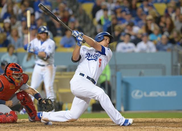 Dodgers Video: Corey Seager Solo Home Run Vs. Cardinals