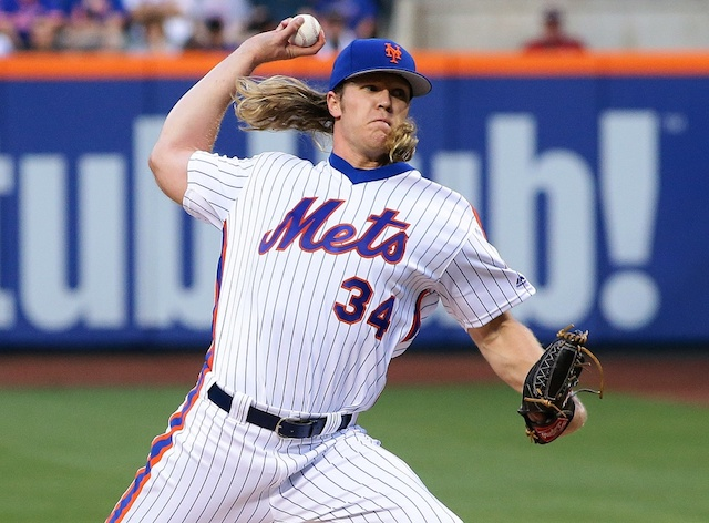 Dodgers Video: Noah Syndergaard Ejected For Throwing Behind Chase Utley