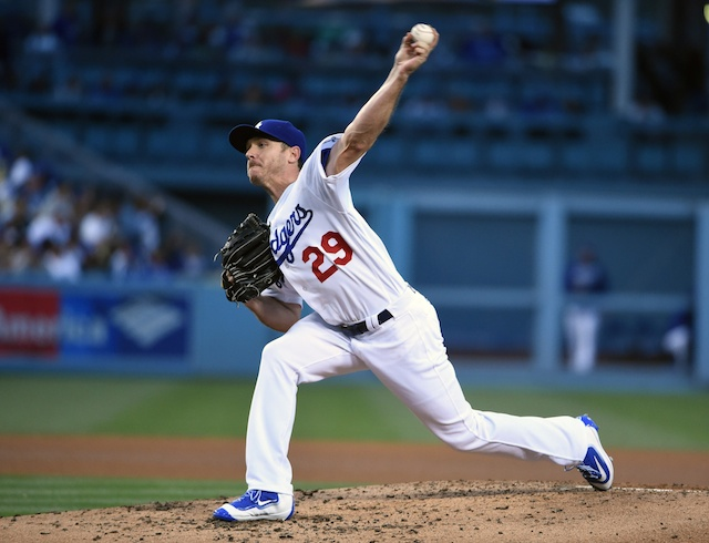 Recap: Scott Kazmir Matches Season High With 12 Strikeouts, Dodgers Sweep Reds