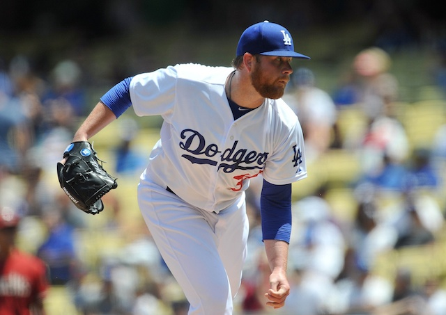 Dodgers News: Brett Anderson Begins To Play Catch