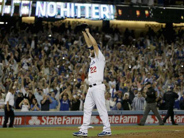 This Day In Dodgers History: Clayton Kershaw Throws No-hitter Against Rockies