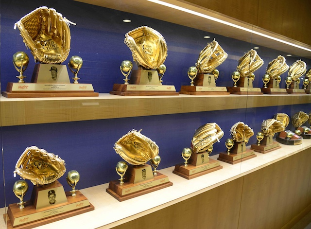 Gold Glove Award, Dodgers