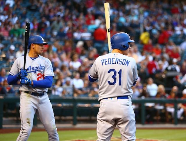 Joc Pederson, Trayce Thompson, Los Angeles Dodgers