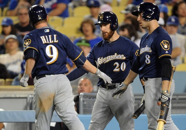 Recap: Brewers Outslug Dodgers To Take Series Opener
