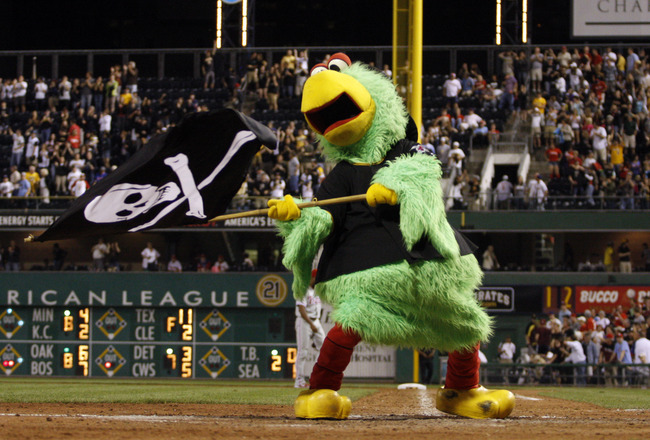 Dodgers Video: Clayton Kershaw Agitated By The Pirate Parrot Mascot