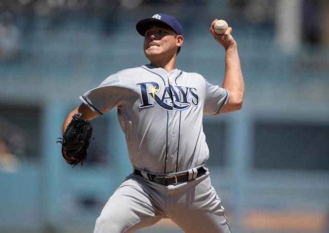 Matt Moore Shines Against Dodgers To Earn Series Split For Rays