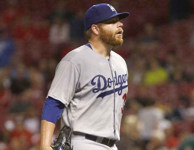 Dodgers News: Brett Anderson Removed With Blister On Left Index Finger