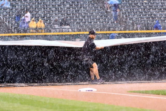 Dodgers-rockies Game At Coors Field Postponed Due To Rain; Doubleheader Scheduled For Aug. 31