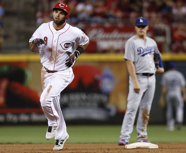 Reds Rain Home Runs On Dodgers In Blowout Victory