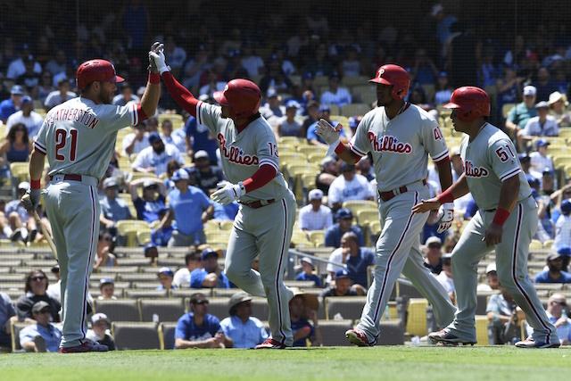 Scott Kazmir Stumbles Late, Dodgers Bullpen Falters, And Phillies Avoid Sweep