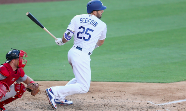 Dodgers News: Rob Segedin 'thankful' For January Trade
